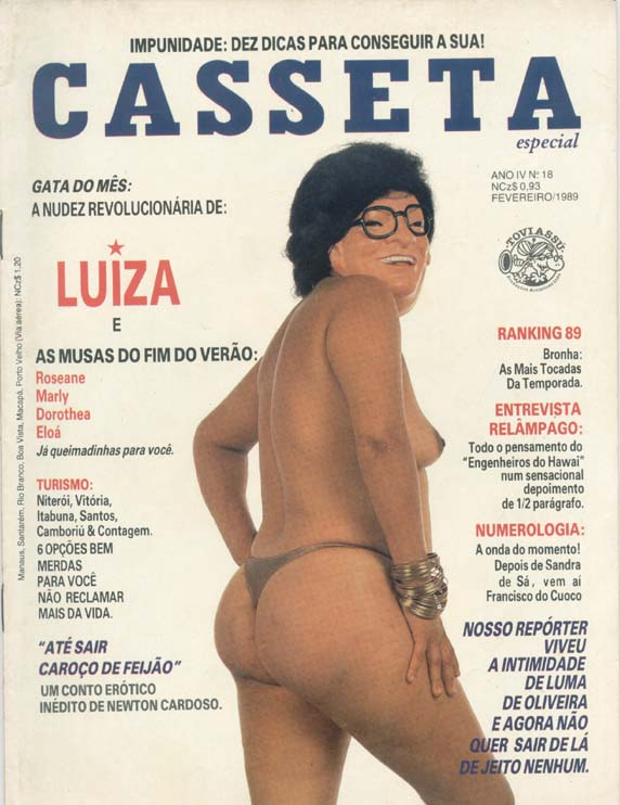 ALMANAQUE CASSETA POPULAR n°18